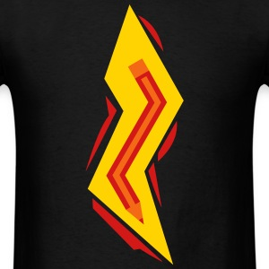 Pencil Lightning Bolt T-Shirts - Men's T-Shirt