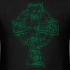 Celtic Cross Irish Celtic Apparel T-Shirts