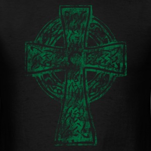 Celtic Cross Irish Celtic Apparel T-Shirts - Men's T-Shirt