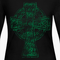 Celtic Cross Irish Celtic Apparel Long Sleeve Shirts