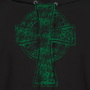 Celtic Cross Irish Celtic Apparel Hoodies - Men's Hoodie