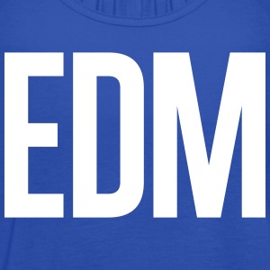 EDM (classic)  Tanks - Women's Flowy Tank Top by Bella