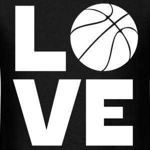 Love Basketball - Men's T-Shirt