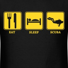eat sleep scuba diving