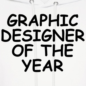 Graphic Designer Of The Year Hoodies - Men's Hoodie