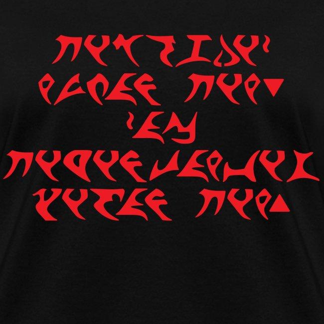 Born Human, Live Klingon