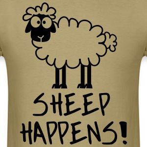 Sheep Happens - Men's T-Shirt