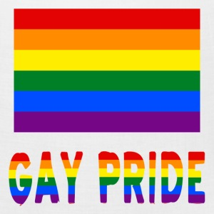 Gay Pride Rainbow Flag and Words - Bandana