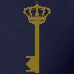 crown key_g1 T-Shirts - Men's T-Shirt