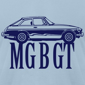 MG MGB GT - Men's T-Shirt by American Apparel