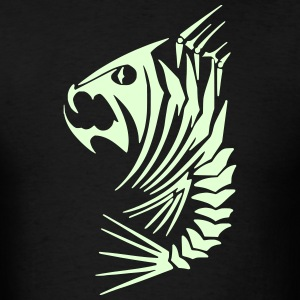 Fish 1 (Glow in the Dark) - Men's T-Shirt