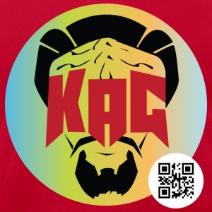 Men's Kag Vintage w/ QR Code - Men's T-Shirt by American Apparel