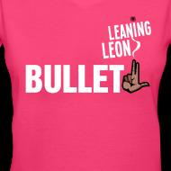 Design ~ Women's Leaning Leon v-neck t-shirt