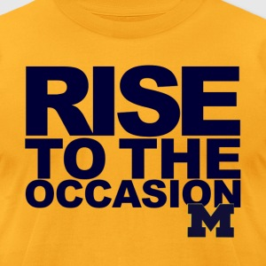 Soft Michigan Rise to the Occasion Shirt - Men's T-Shirt by American Apparel