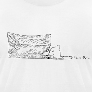 Cat's Out of the Bag - Men's T-Shirt by American Apparel