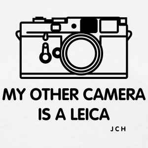 Photographers teeshirt - Women's T-Shirt