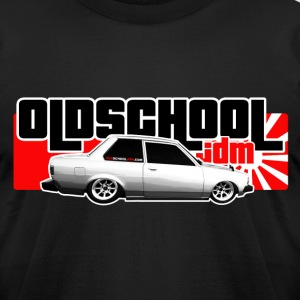 Old School JDM 01 - Men's T-Shirt by American Apparel