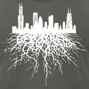 Chicago Roots Chicago Hoody T-Shirts - Men's T-Shirt by American Apparel