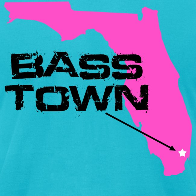 Bass Town (Turquoise-Pink)