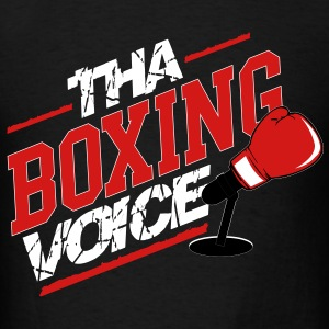 Tha Boxing Voice Logo T-Shirts - Men's T-Shirt