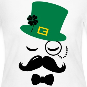 mustache Long Sleeve Shirts - Women's Long Sleeve Jersey T-Shirt