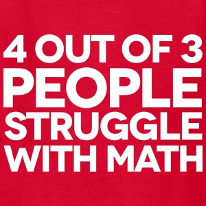 Struggle With Math Kids' Shirts - Kids' T-Shirt