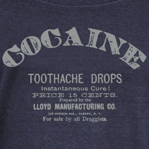 Cocaine - Toothache Drops  Long Sleeve Shirts - Women's Wideneck Sweatshirt