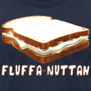 Fluffa Nuttah Back to Beantown T-Shirts - Men's T-Shirt by American Apparel