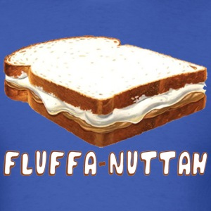 Fluffa Nuttah Back to Beantown T-Shirts - Men's T-Shirt