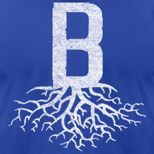B with Roots Back to Beantown T-Shirts - Men's T-Shirt by American Apparel