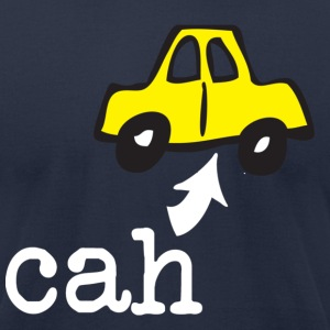 Bahstin Cah Back to Beantown T-Shirts - Men's T-Shirt by American Apparel