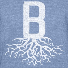 B with Roots Back to Beantown T-Shirts