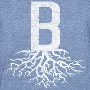 B with Roots Back to Beantown T-Shirts - Unisex Tri-Blend T-Shirt by American Apparel