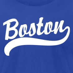 Boston Cursive Back to Beantown T-Shirts