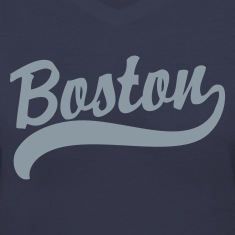 Boston Cursive Back to Beantown Women's T-Shirts