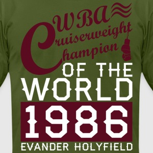 Cruiserweight Evander Holyfield mp T-Shirts - Men's T-Shirt by American Apparel