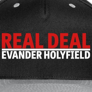 Real Deal Evander Holyfield mp Caps - Snap-back Baseball Cap
