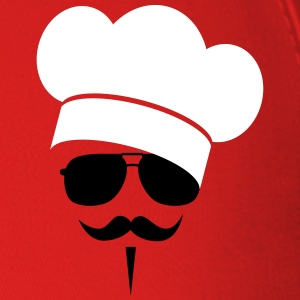 Cook with Moustache Caps - Baseball Cap