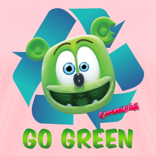 Gummibär (The Gummy Bear) Recycle Earth Day Women's T-Shirt
