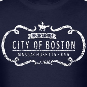 The One and Only Boston Back to Beantown T-Shirts - Men's T-Shirt