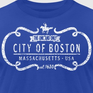 The One and Only Boston Back to Beantown T-Shirts - Men's T-Shirt by American Apparel
