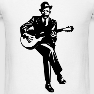 Blues Player T-Shirts - Men's T-Shirt