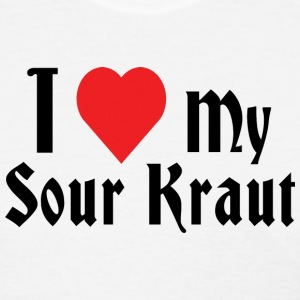 I Love My Sour Kraut T-Shirt - Women's T-Shirt