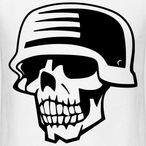 Skull Soldier  T-Shirts - Men's T-Shirt