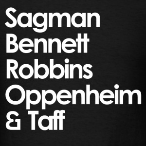 Sagman, Bennett, Robbins, Oppenheim and Taff - Whi - Men's T-Shirt
