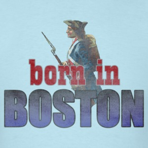 Born in Boston Back to Beantown T-Shirts - Men's T-Shirt