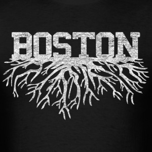 My Boston Roots Back to Beantown T-Shirts - Men's T-Shirt