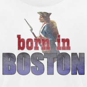Born in Boston Back to Beantown T-Shirts - Men's T-Shirt by American Apparel