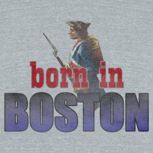 Born in Boston Back to Beantown T-Shirts - Unisex Tri-Blend T-Shirt