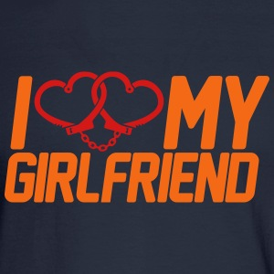 I Love my Girlfriend Long Sleeve Shirts - Men's Long Sleeve T-Shirt